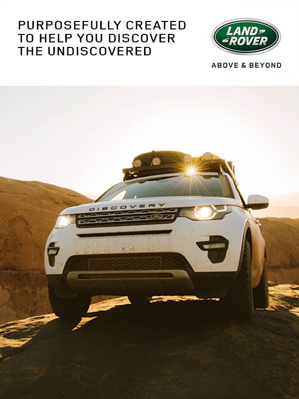 Purposefully created to help you discover the undiscovered. (Line break/new paragraph) With Land Rover at its heart, the Discovery Sport is more than adept in some of the most-challenging conditions. Functioning at very low speeds, All-Terrain Progress Control is designed to provide composed progress on low-grip surfaces at an exact speed set by the driver.