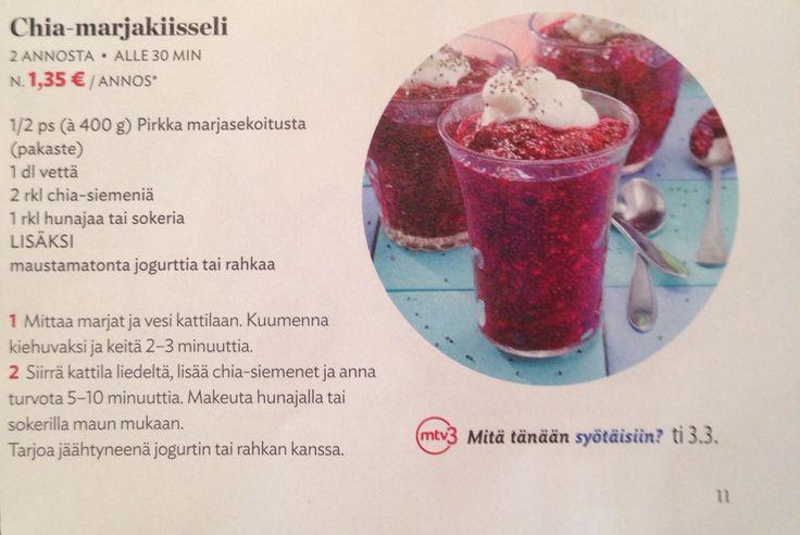 Berry chia seeds