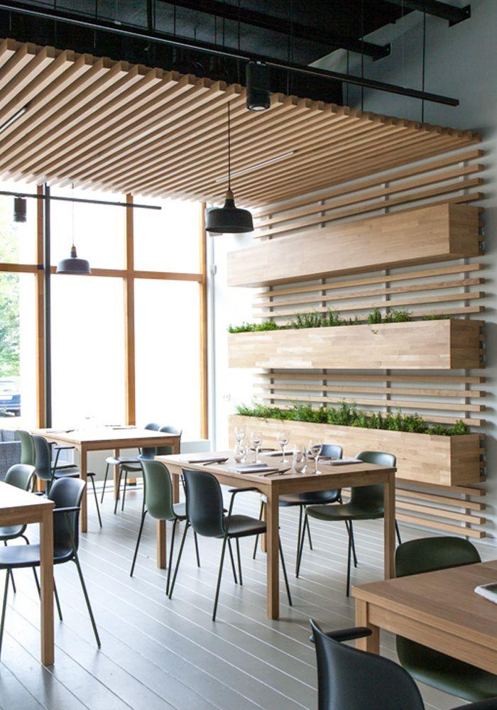 Interieur restaurant Stenden University