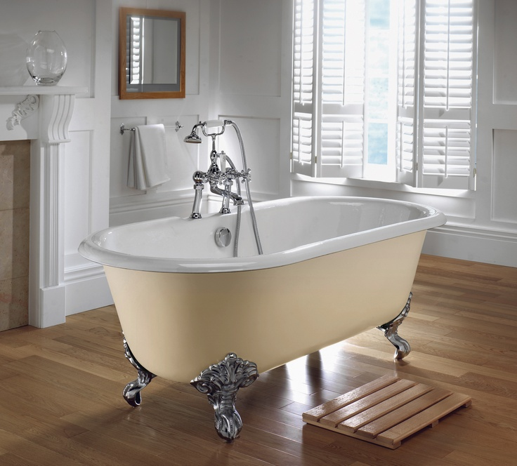 Bentley Double Ended Bath with Claw Feet www.sinkandtap.com.au
