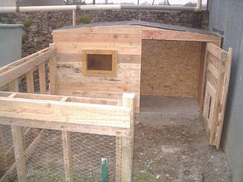 1000 id es sur le th me poulailler en palette sur pinterest poulailler en bois construire son. Black Bedroom Furniture Sets. Home Design Ideas