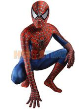 O Envio gratuito de Raimi Traje Spiderman 3D Impresso Crianças/Adulto Lycra Spandex Fullbody Zentai do homem-Aranha Traje Para O Dia Das Bruxas terno //Price: $US $69.98 & FREE Shipping //    #homemformiga #marvel