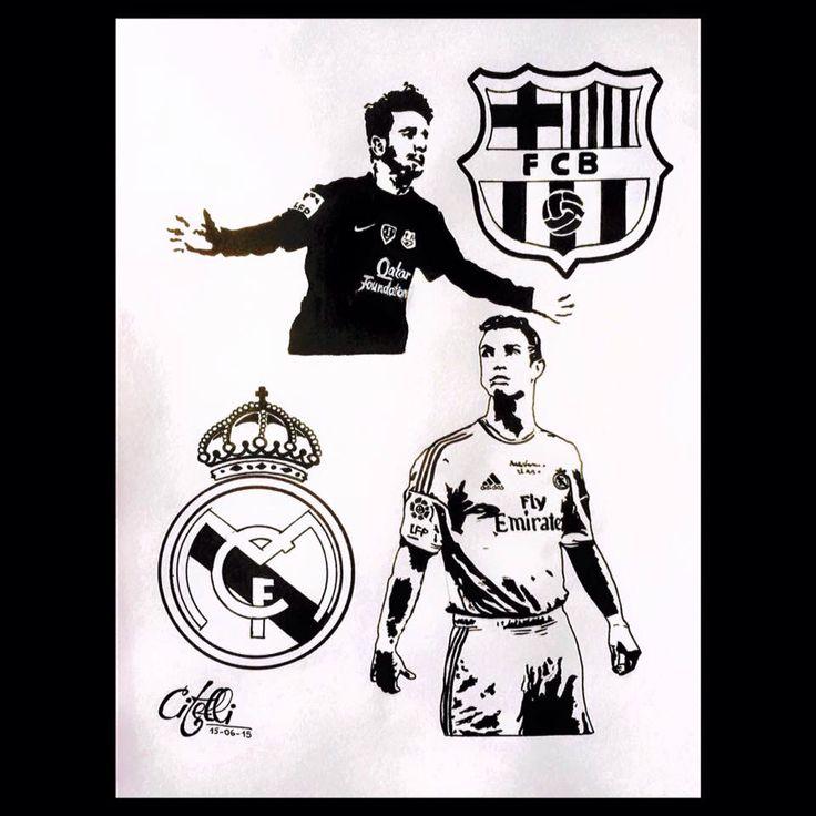 Real Madrid & Barça // Cristiano Ronaldo & Lionel Messi