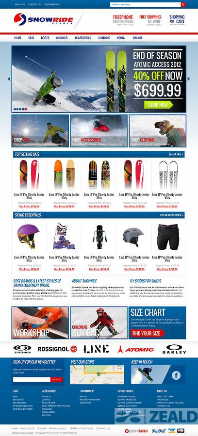 Snowride - The art and science of good #websitedesign #website #websiteredesign #webdesign #designinsperation #rethinkyourwebsite #layout #redesign #redesignideas #redesigninspiration #creative #landingpages #beforeafter #responsive #leadgeneration #sports