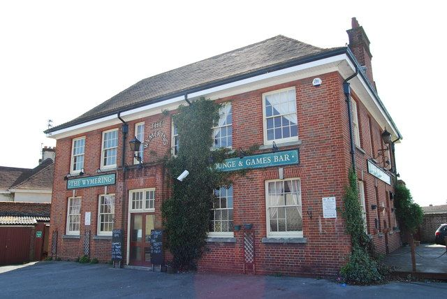 The Wymering, Cosham was built in the 1930s but now demolished and flats built instead.