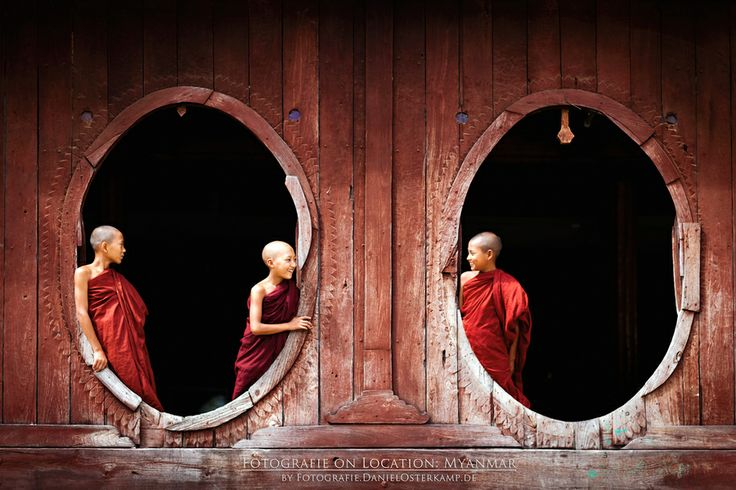 Ancient wooden monastery Shwe Yan Pyay in Nyaungshwe by Daniel Osterkamp on 500px