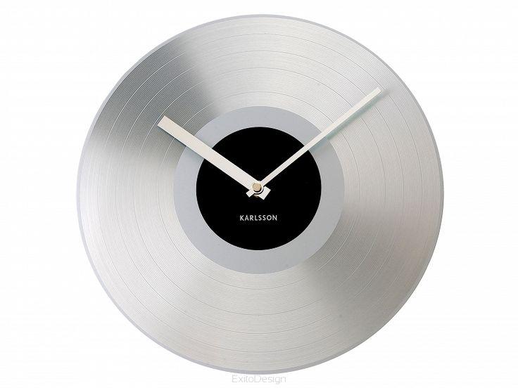 Zegar ścienny Platinum Record by Karlsson