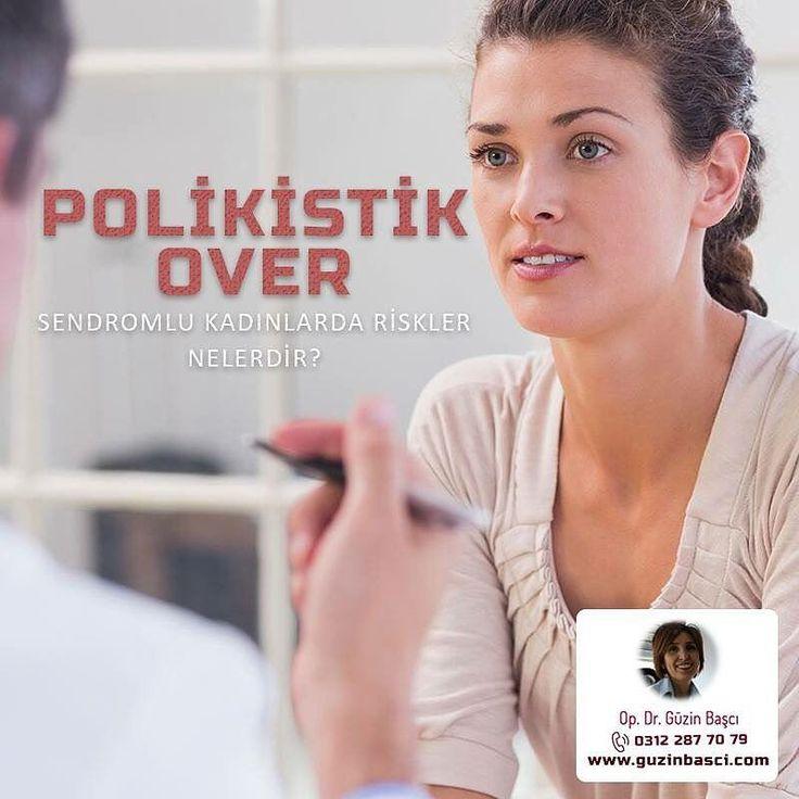 POLİKİSTİK OVER SENDROMLU KADINLARDA RİSKLER NEDİR?  Diabet: Yaşın ilerlemesi ve kilolu olmak artmış bel/kalça oranı tip II diabet riskini artırmaktadır. Bu risk 1. derece yakınlarında diabet varsa daha da artar. Yapılan çalışmalarda risk %35  40 olarak gösterilmiştir. Tüm polikistik over sendromlu kadınlarda diabet taraması yapmak akıllıcadır. Riski azaltmanın en iyi yolu polikistik over sendromlu kadınların dengeli beslenme ve fiziksel aktiviteyi artırmaya yönelik hareketleri bir yaşam…