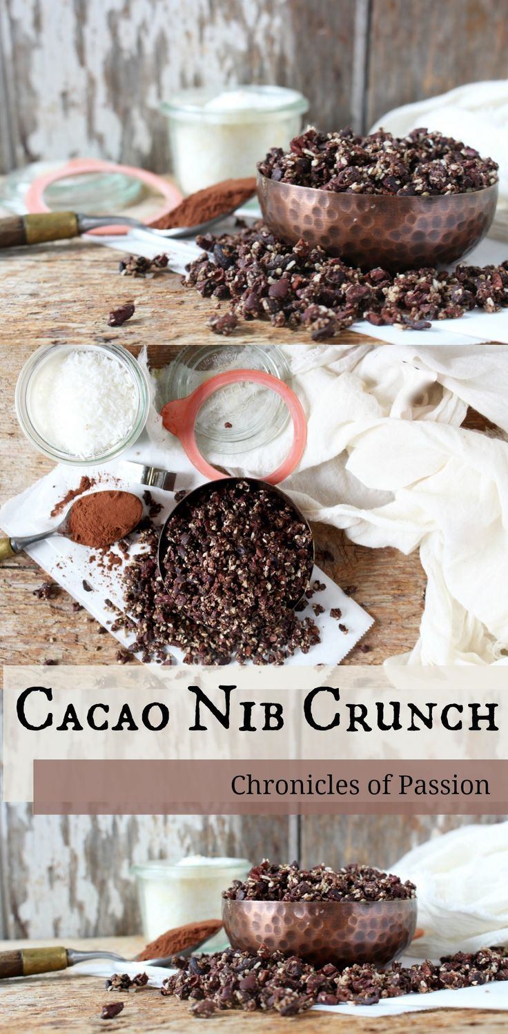 Raw cacao nib crunch that is #vegan and perfect to satisfy your #chocolate cravings!
