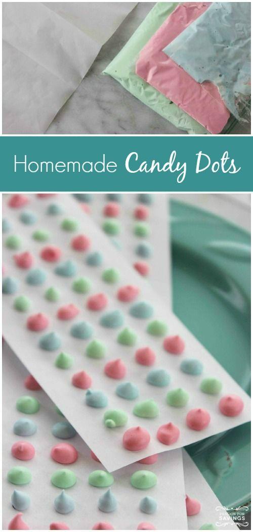 Homemade Candy Dots Recipe