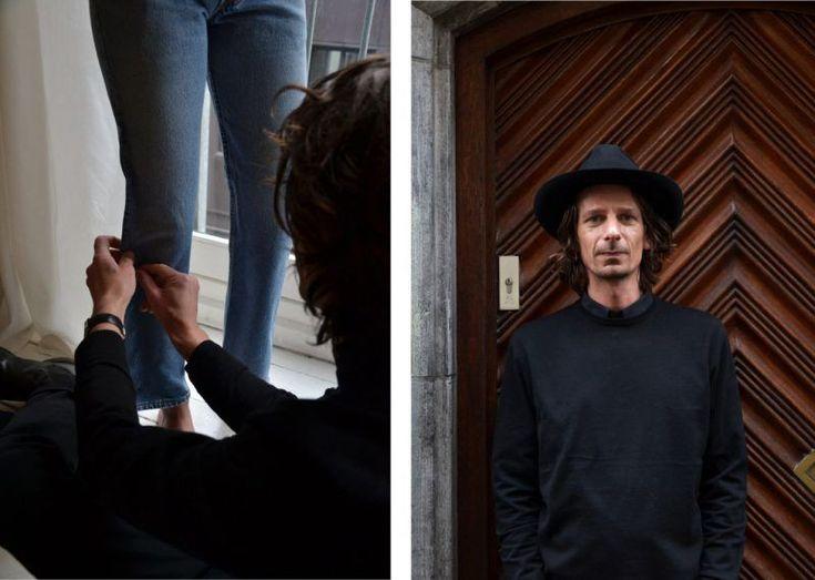 Med Levis som syre  När mode kräver hållbarhet hittas den gyllene vägen i Mick Keus ateljé i centrala Amsterdam. Från och med mitten av mars blir hans denimkunskaper tillgängliga för hela världen och Plaza Kvinna mötte upp Mick för en pratstund i hans ateljé.    Två trappor upp i huset vid Bergstraat 3 i centrala Amsterdam finns en ateljé med vita trägolv stora fönster persiska mattor och Levis längs väggarna. Ateljén ligger ett stenkast bort från omtalade De 9 Straatjes