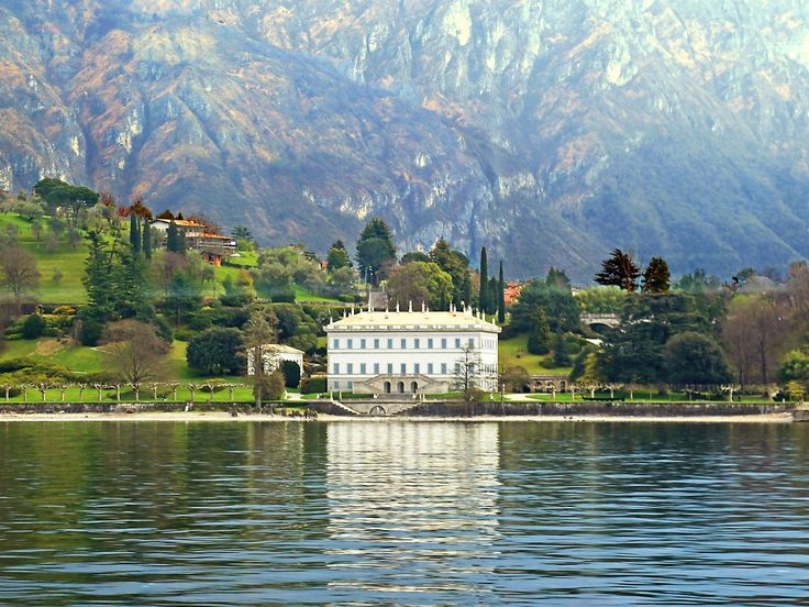 Lake Como -- Villa Melzi -- Architectural Digest -- 4-7-16