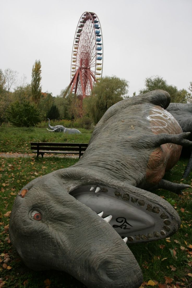 the spreepark, former gdr-controlled east berlin - opened 1969, closed 2002 [set of images]
