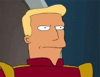 Zapp Brannigan Angry - Futurama Animated Gif - Consigue y descarga increíbles y fantásticos stickers gratis para la aplicación Telegram de tu móvil o celular - https://stickers.acidodivertido.com