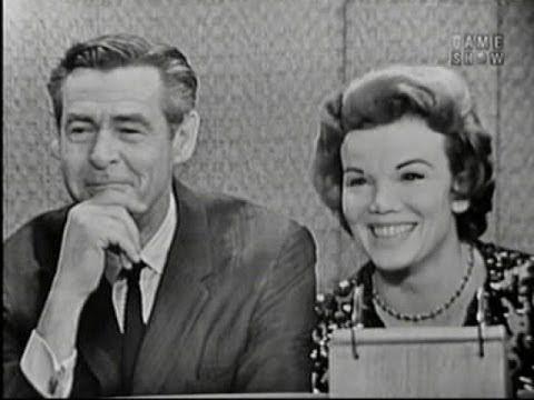What's My Line? - Robert Ryan & Nanette Fabray; Harry Belafonte [panel] ...