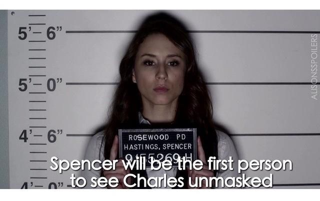 Want to know who the first person to see Charles without his mask is? #PrettyLittleLiars spoiler: #PLL