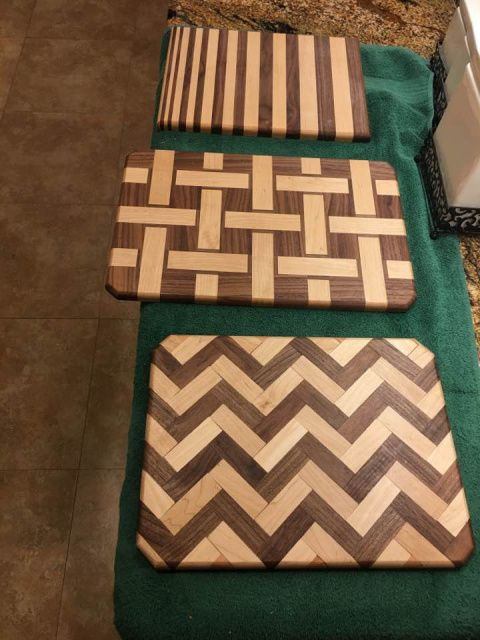 Custom, woodworking, woodwork, Cutting board, Purple Heart, Blood Wood, remodeling, remodel, cabinets, Spring, The Woodlands, Houston, Conroe, Tomball, Cypress, Magnolia, Kingwood, Humble, Sugarland, Texas, tx custom-wood-creations.com CWCbyJohn@gmail.com