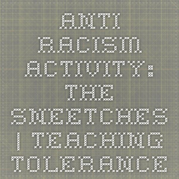 Anti-Racism Activity: The Sneetches | Teaching Tolerance