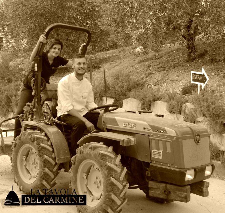 I protagonisti de La Tavola: Ilaria e Diego!