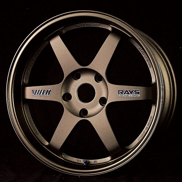 Volks Racing TE37 is a one piece forged wheel that is designed for light weight performance and durability for both track and street use. Description from rimspec.com. I searched for this on bing.com/images