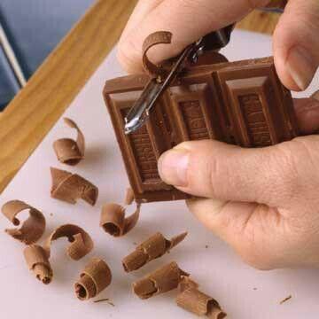 Cake Recipe With Chocolate Shavings