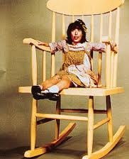 "1960's, On Variety TV SHow ""Laugh-In"" my favorite character, Edith Ann, who rocked in her giant chair and often said "" my name is Edith Ann..."" played by Lily Thomlin"