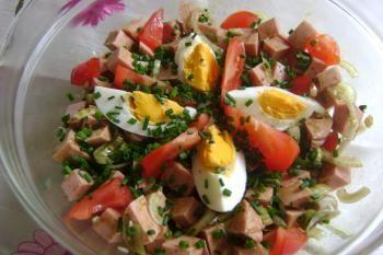 Foto Rezept Saure Extrawurst auf steirisch (Fleischwurstsalat)