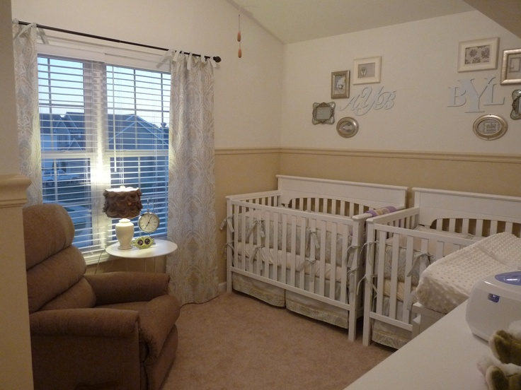 Best 25 small twin nursery ideas on pinterest cribs for small spaces small baby nursery and - Baby nursery ideas for small spaces style ...