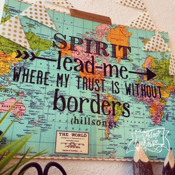 Spirit lead me where my trust is without borders by theadoptshoppe