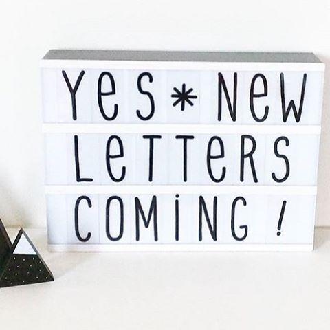 Nye bokstaver, symbol og bilder til de kule lightbox fra @alittlelovelycompany kommer snart til barneglede   #lys#lightbox#lysboks#nattlys#interior#interior4u#barneglede #barnerom#kidsroom#mylittlelovelycompany#foreldreogbarn #interior123 #lampe#kaffe#nettbutikk#nattlys#bolig#boligpluss#diy#rom123#foreldreogbarn#lilleskatten#designforkids#nyhet#kommersnart#barneglede