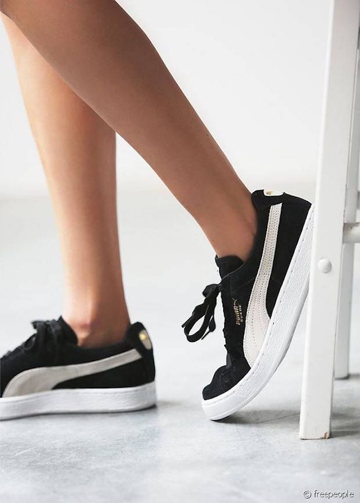 baskets puma femme scratch