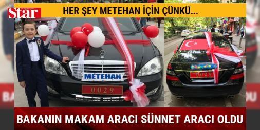 Bakan Işık'ın makam aracı Metehan için süslendi: Milli Savunma Bakanı Fikri Işık, Hakkari'de PKK'lı teröristlerle çıkan çatışmada şehit düşen Piyade Üsteğmen Serkan Çakal'ın 9 yaşındaki oğlu Metehan'ın sünnet düğünü için makam aracını tahsis etti. Kocaeli kent merkezinde süslenen otomobil, daha sonra Kandıra ilçesindeki Metehan'ın evinin önüne çekildi. Burada mehter takımıyla karşılanan otomobile binen küçük Metehan, aracı bir süre inceledi ve annesi Zeynep Çakal ile fotoğraf çektirdi. Daha…