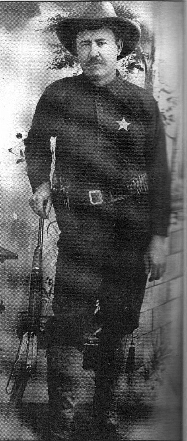 Paden Tolbert, deputy U.S. marshal