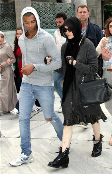 Madonna's Istanbul visit