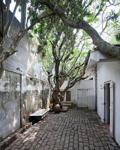 Courtyard in Geoffrey Bawa's house, Colombo | by horvath bence
