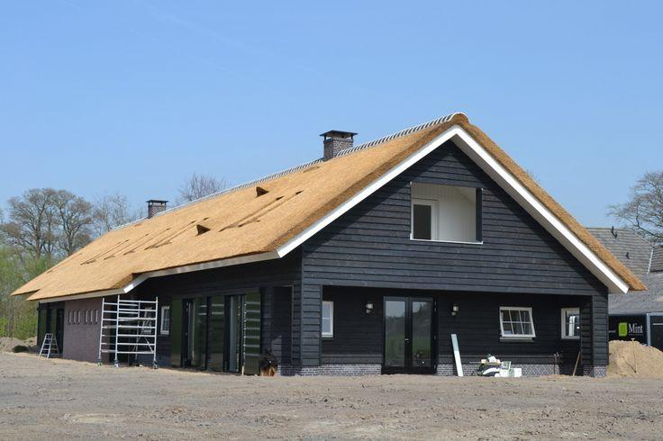 Nieuwbouw 2 onder 1 kap schuurwoning te Klarenbeek in het kader van Rood voor Rood | Dijkhof Bouw