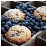 Paleo blueberry almond crumb muffins http://gingko.co.za/delicious-healthy-recipes/