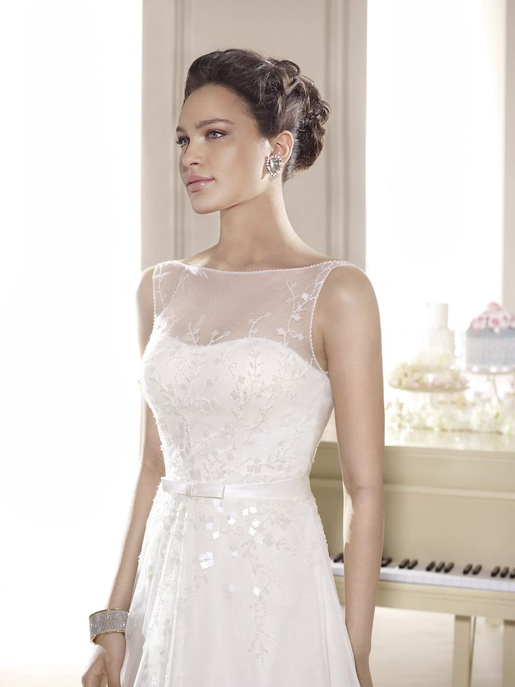 The 45 best Empire Bridal Wedding Gowns images on Pinterest | Short ...