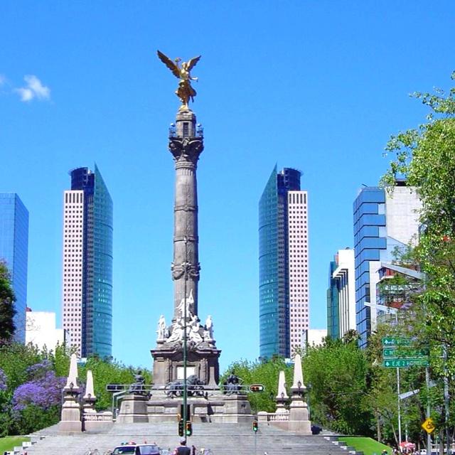 El Angel de la Independencia -ciudad de mexico, mexico- ubicado a 8min del centro historico y a 2min del bosque de chapultepec