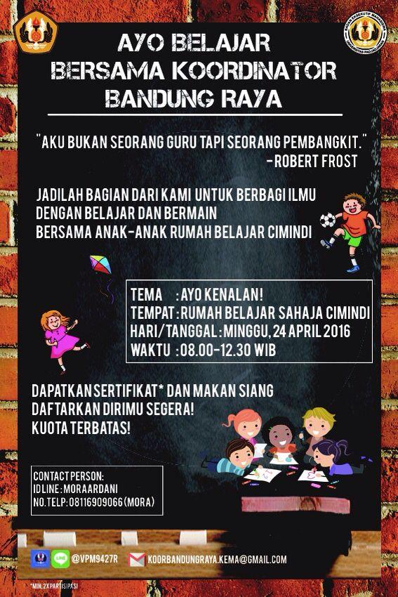 Poster AB2K -Koordinator Bandung Raya;BEM KEMA UNPAD-  design by iklima musyarofah