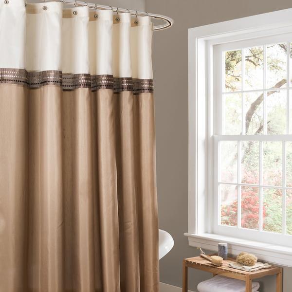 Terra Shower Curtain Striped Shower Curtains Fabric Shower