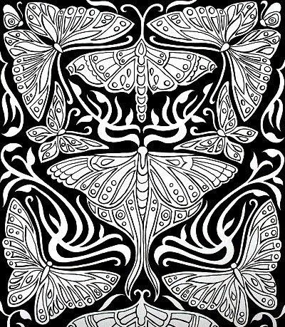 les 171 meilleures images du tableau coloriage papillon sur pinterest coloriage papillon. Black Bedroom Furniture Sets. Home Design Ideas