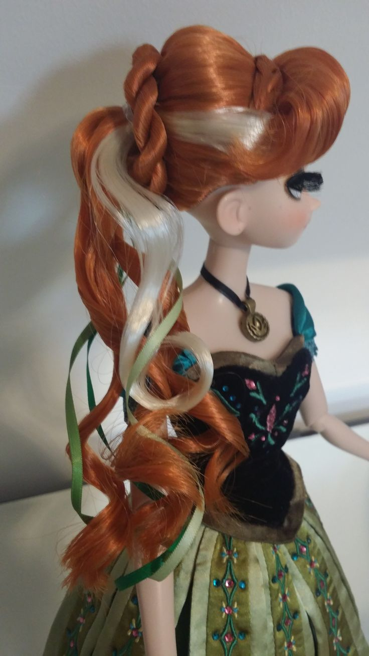 Anna limited edition doll beautiful hairstyle