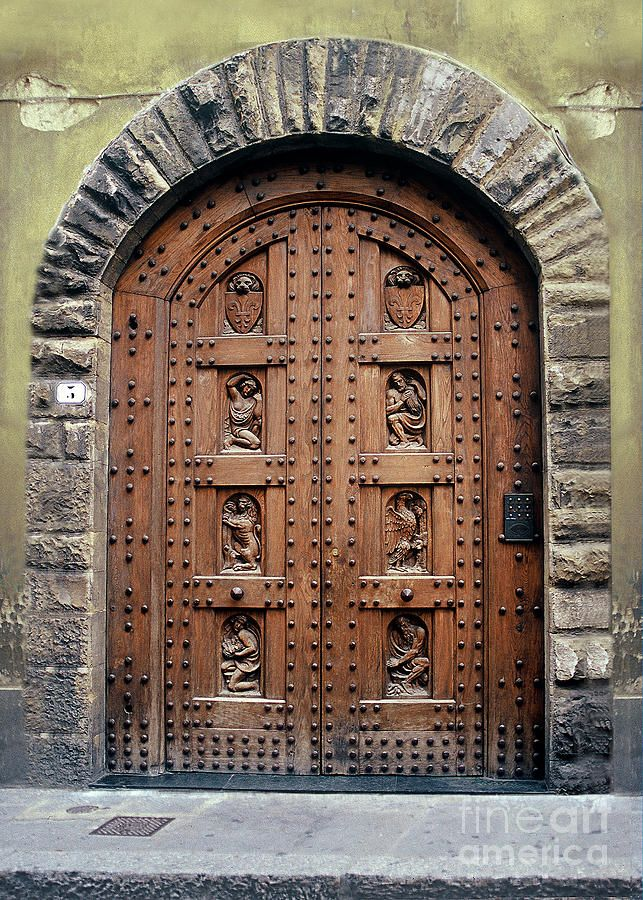 Rome Door Canvas Print / Canvas Art by H Scott Cushing & 230 best The Doors of Rome images on Pinterest | Entryway Windows ...