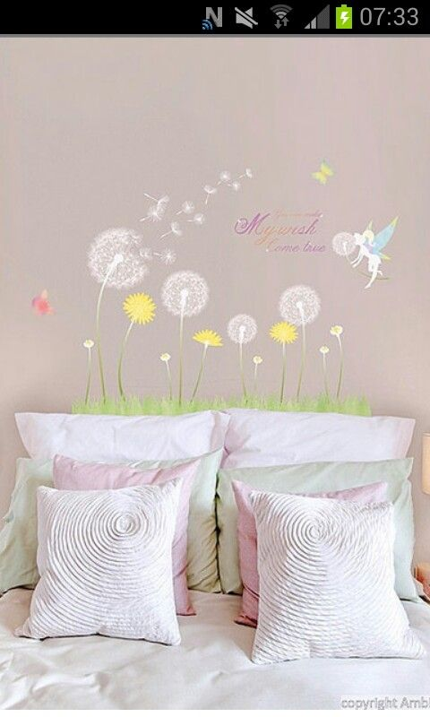 My favourite decal for a little girl's bedroom