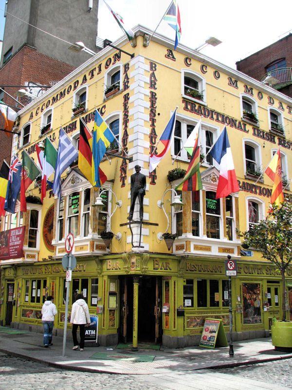 Temple Bar, Dublin, Ireland Copyright: Vincent COURCELEAUD