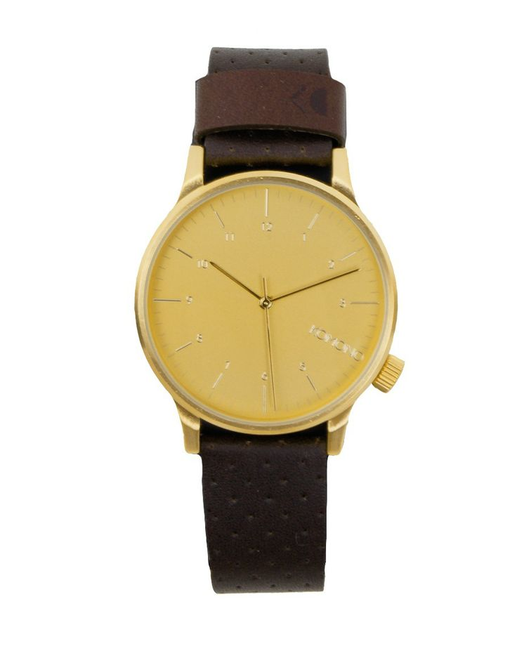 #fashion #menswear #montre #watch #gold #leather #or #cuir