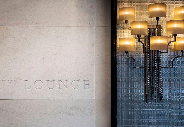 Seoul hotel lounge bar entrance