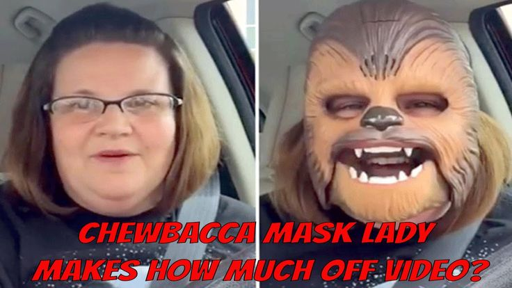 How Much did Chewbacca Lady Make?