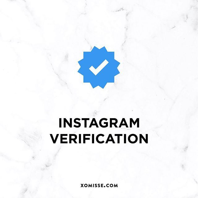 Instagram now allow you to request verification! If approved this